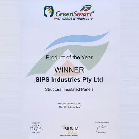 HIA GreenSmart Award Winner 2010 - BEST NEW PRODUCT