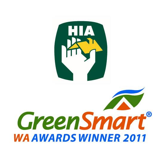 HIA GreenSmart Award Winner 2011