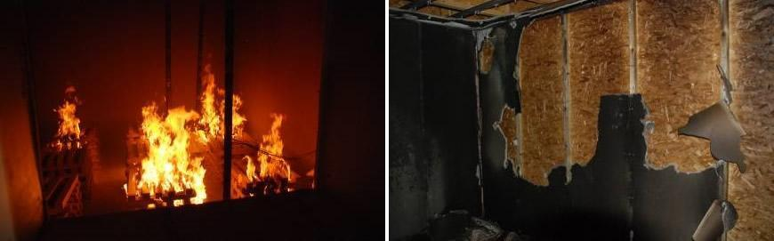 Fire Testing of Structural Insulated Panels (SIPs) Construction