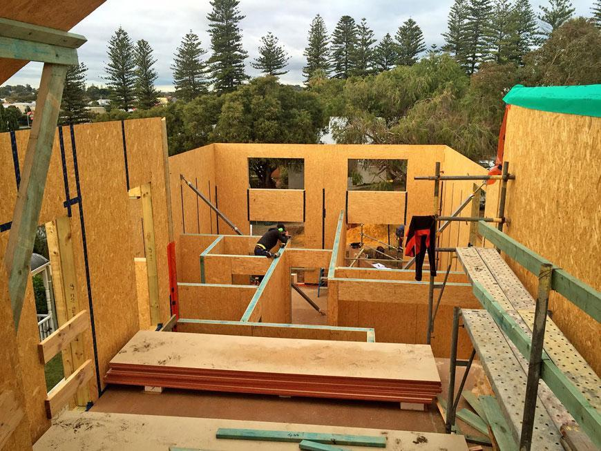 Building the Passivhaus home in Cottesloe